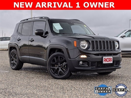 Ancira Eagle Pass >> 2018 Jeep Renegade Altitude